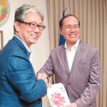 日本とラオスの友好懇親会=駐日ラオス大使館