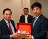 中根外務大臣政務官=カンボジアとラオスを訪問、両国要人と会談